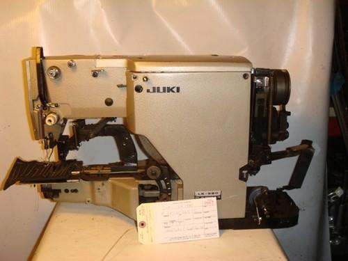 JUKI LK-980 BARTACK SEWING MACHINE MISSING PARTS