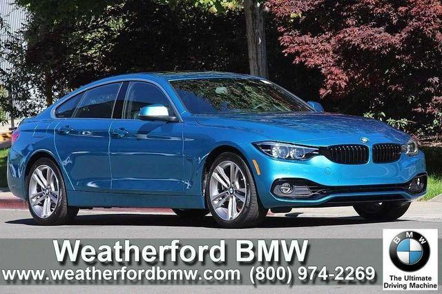 BMW 4 Series 430i Gran Coupe SULEV 2018