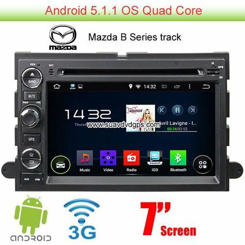 Mazda B Series track Android 5.1 Car Radio WIFI 3G DVD player GPS navi multimedia
