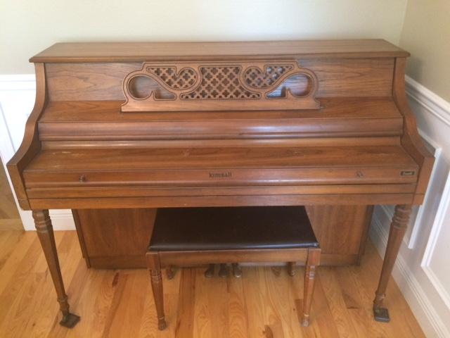 Kimball Console Piano for Sale