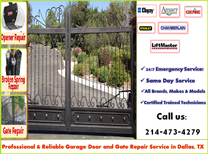 One of the most Reputable Automatic Gate Repair Company in Dallas