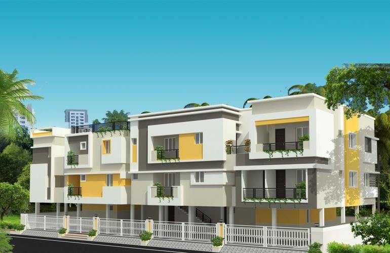 Villas In ECR | The Nest Builders