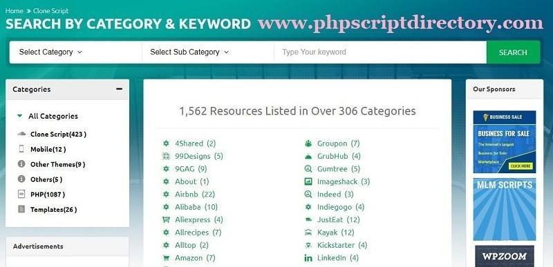 PHP Clone Scripts | Clone Scripts | Clone Scripts PHP