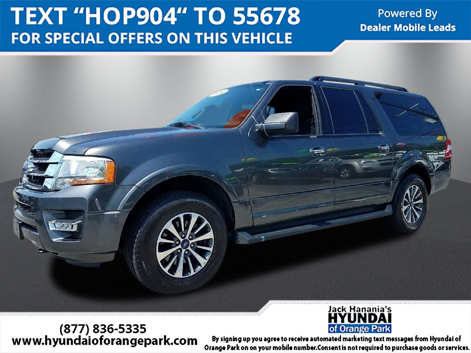 Ford Expedition EL XLT 4X4 2016