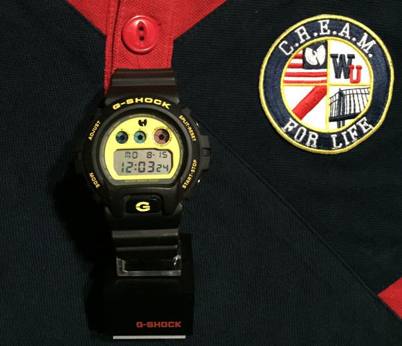 Limited Edition Wu-Tang and G-Shock Watch plus 36 Chambers Jersey Tank Top