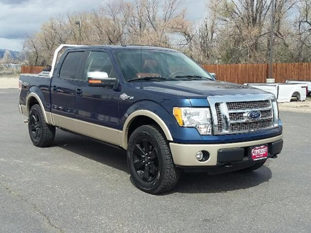 Ford F-150 4WD SuperCrew 145 King Ranch 2010