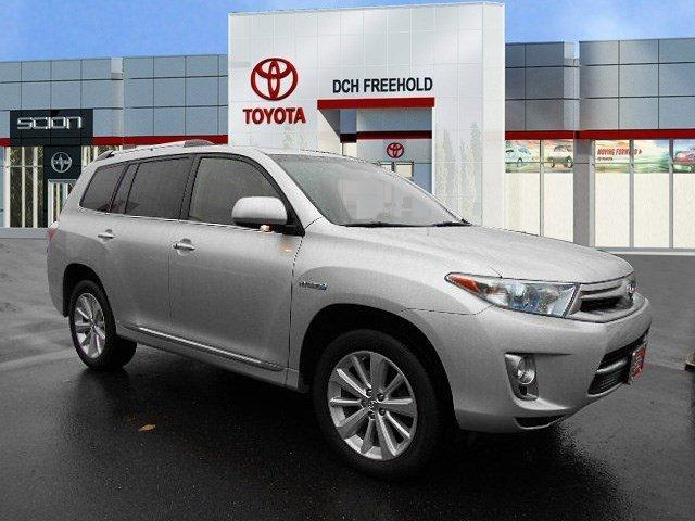 Toyota Highlander Hybrid Limited 2013