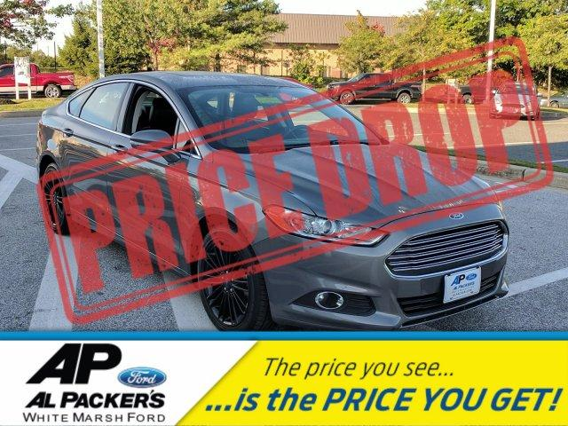 Ford Fusion SE BLACK WHEELS NAVIGATION MOONROOF LEATHER 2014