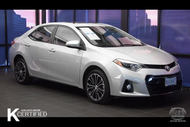 Toyota Corolla S Plus 2014
