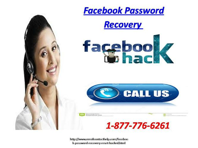 Find Effective Solution Dial 1-877-776-6261 for Facebook Password Recovery