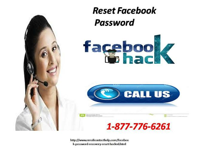 Call 1-877-776-6261 is Reset Facebook Password to resolve the queries