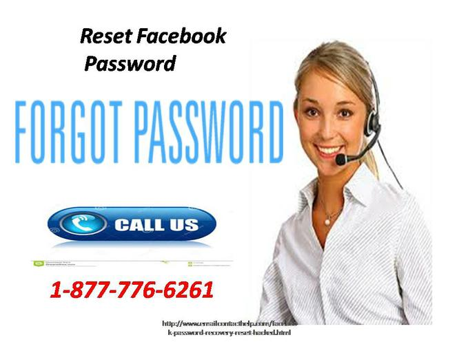 Essential benefits from Reset Facebook Password 1-877-776-6261 in 24*7*365