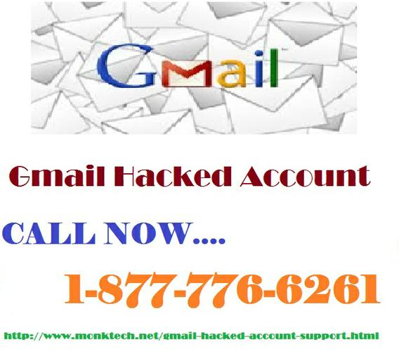 Don't Worry About Gmail Hacked Just Dial On 1-877-776-6261