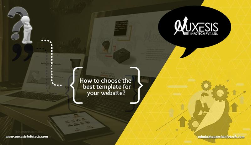 How to choose the best template for your website?