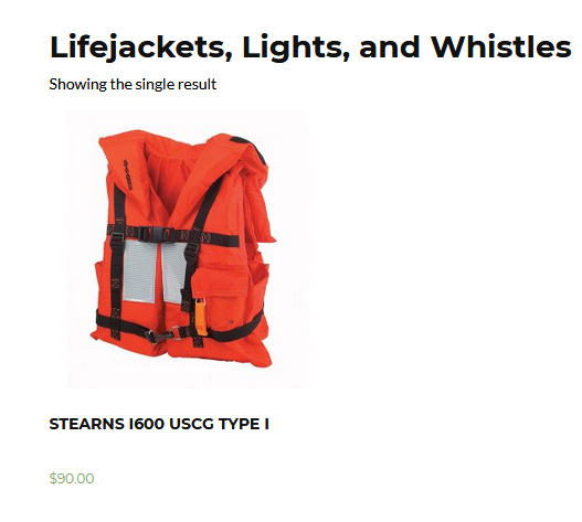Lifejackets, Lights, and Whistles - Western Fire and Safety