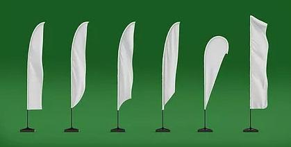 Custom Teardrop Flag Banners