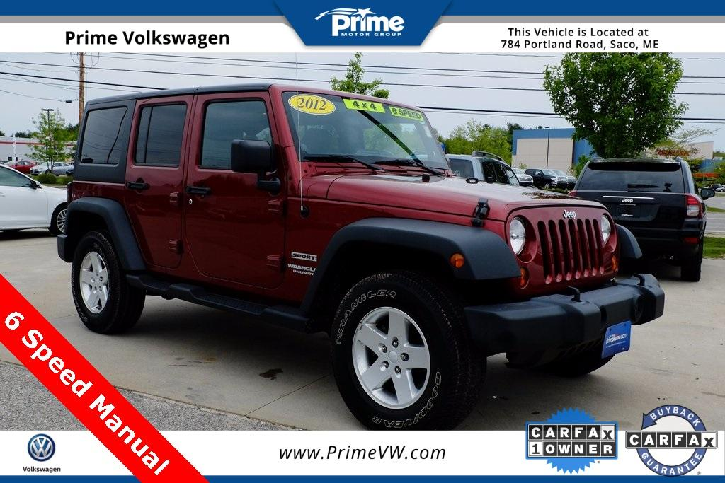 Jeep Wrangler Unlimited Unlimited Sport 2012