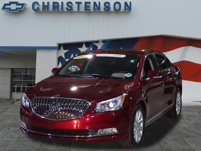 Buick LaCrosse Leather Group LEATHER GROUP 2014
