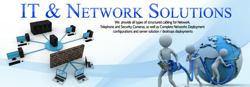 IT Solutions, we work on computers, locks,Networkingand camera systems