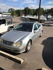 2003 Mercedes Benz C230 2 DR Coupe near Jacksonville, Lake City, Lake Butler, Ocala, Valdosta an