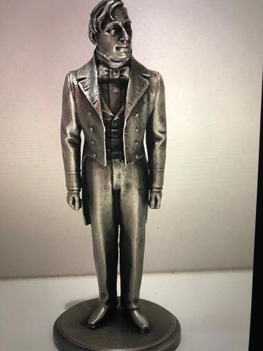 Pewter Sculptures of American Presidents