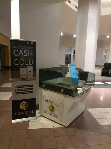 Sales of GoldCube  The GoldCube ATM
