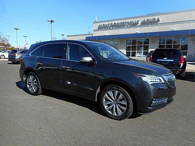 Acura MDX Tech/Entertainment Pkg 2014