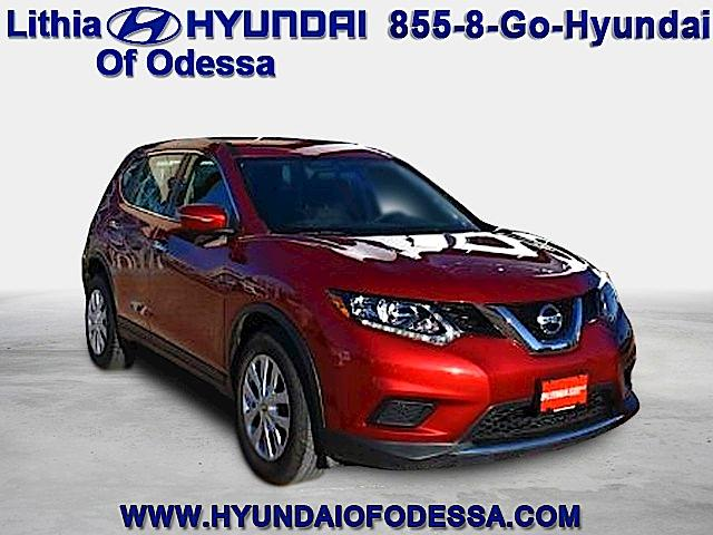Nissan Rogue FWD 4DR S 2015