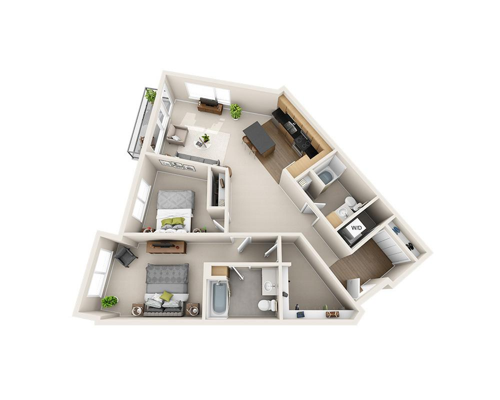 $2692 Two bedroom Apartment for rent