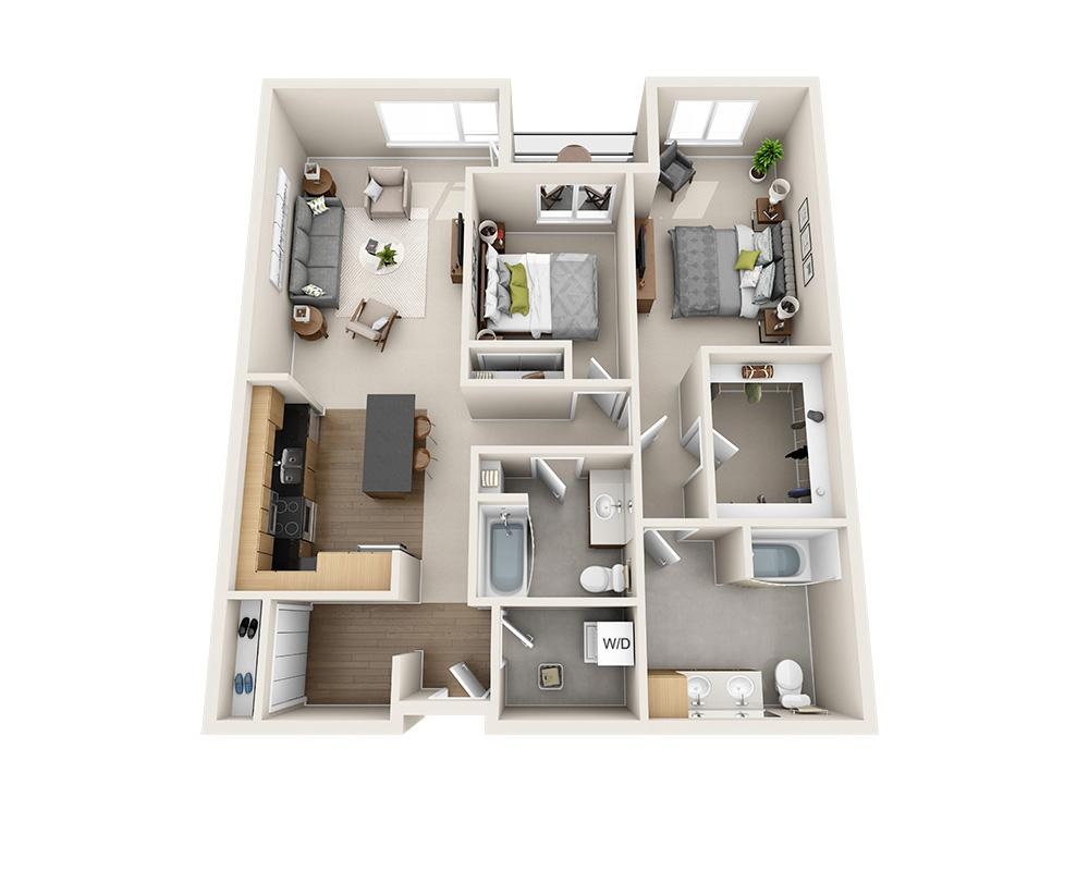 $2324 Two bedroom Apartment for rent