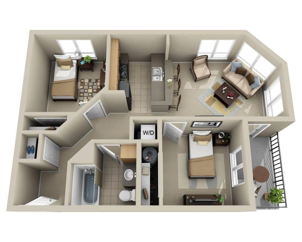 $2654 Two bedroom Apartment for rent
