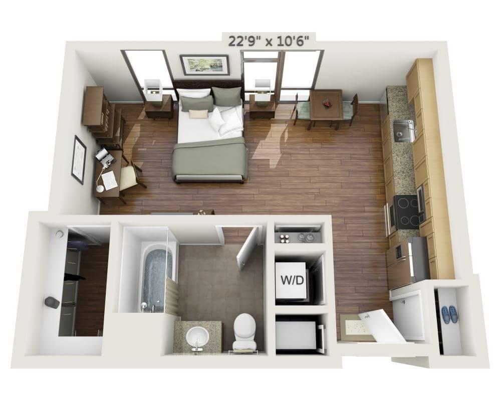 $2059 Studio Apartment for rent