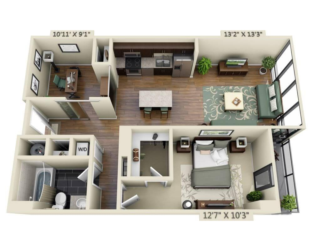 $3245 One bedroom Apartment for rent