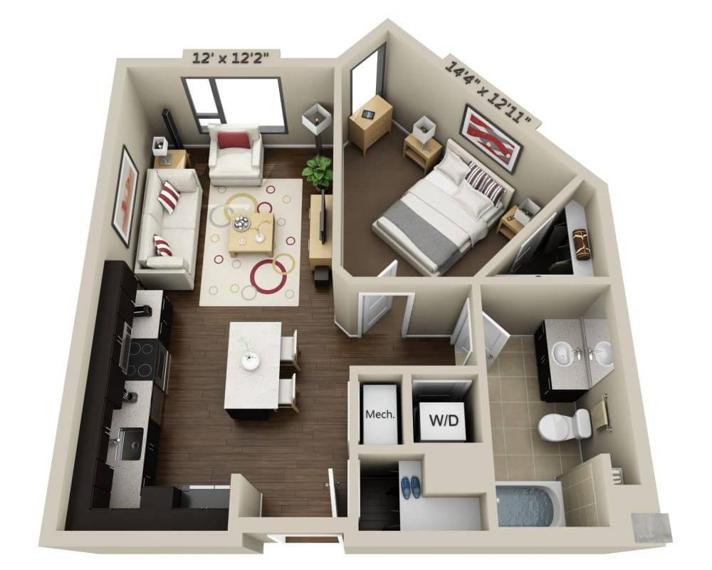 $3899 One bedroom Apartment for rent
