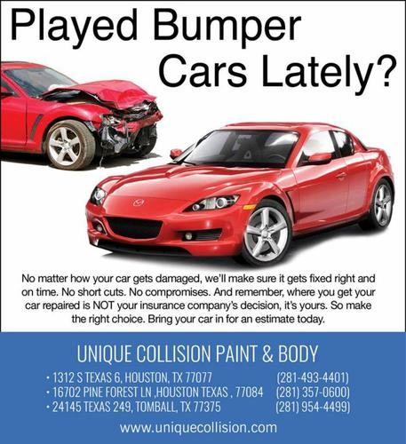 Repair, body and paint automotive professional
