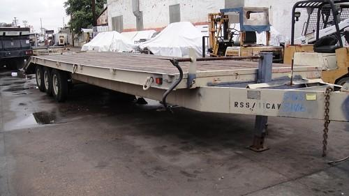 BELSHE T-4 TRAILER 30' X 8'