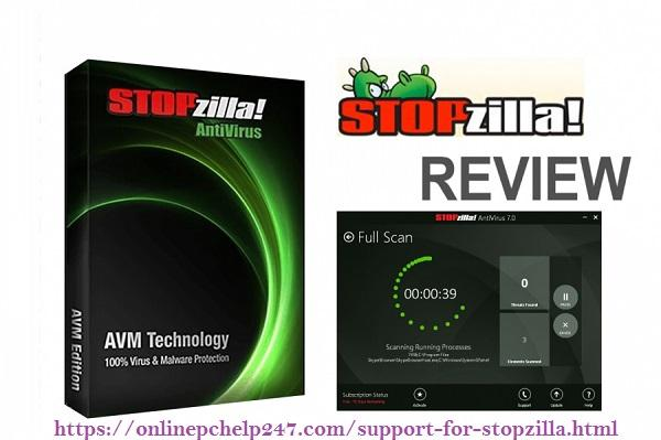 Support for StopZilla Internet Security