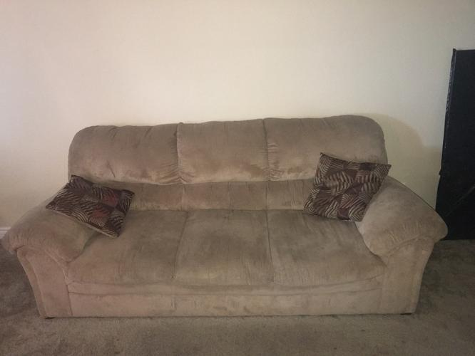 Couch, Sofa, tan