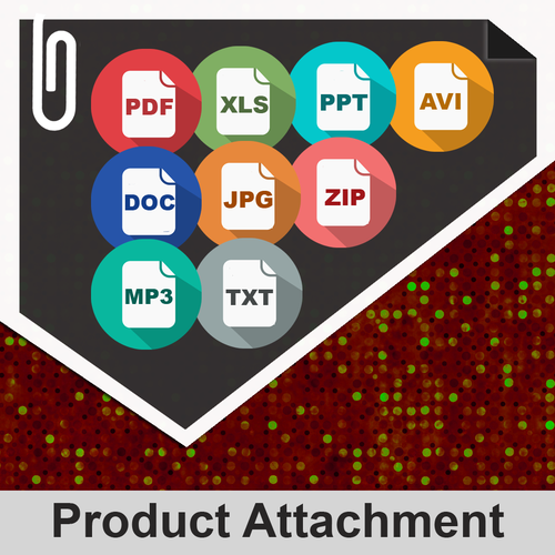 File downloads & product attachments magento extension