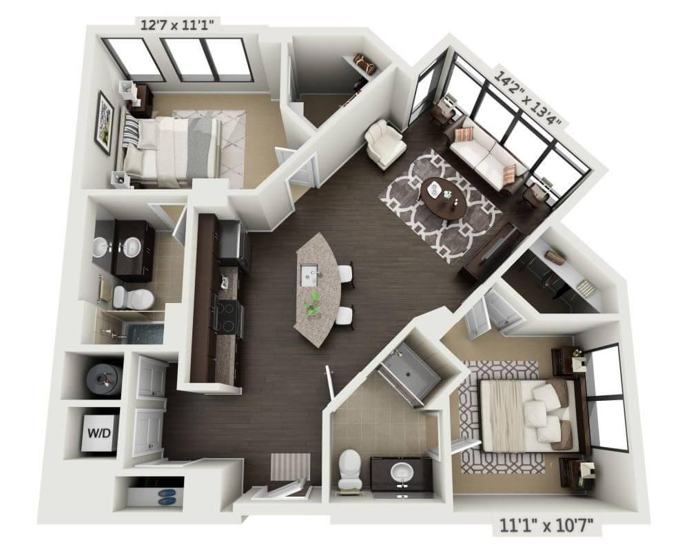 $2603 Two bedroom Apartment for rent