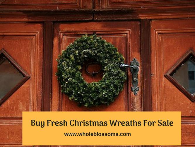 Order Beautiful Christmas Wreaths