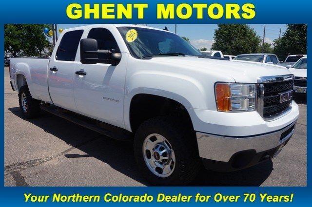 GMC Sierra 2500HD Work Truck 2012