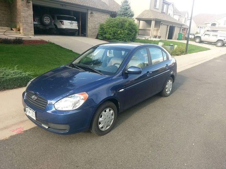 Hyundai Accent 4D Sedan GLS 2011