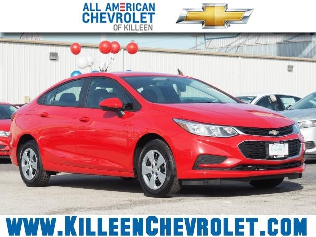 Chevrolet Cruze 4-DOOR SEDAN LS MANUAL 2018
