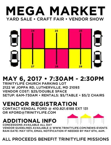 Mega Market | Yard Sale, Craft Fair, Vendor Show (Lutherville)