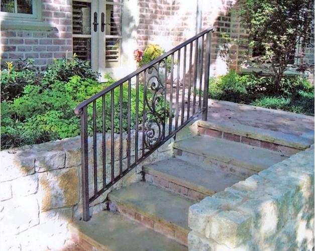 Stair Rails of Associated Ornamental
