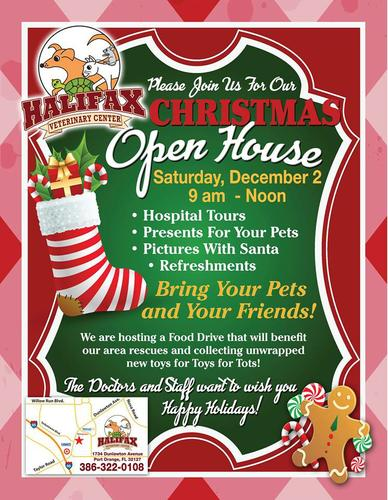 Join Us For Our Christmas Open House