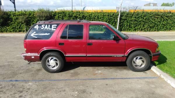 97 Chevrolet 4 Door 4 X 4 Blazer V6