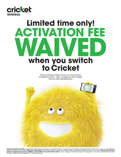 Cricket Wireless has you covered!