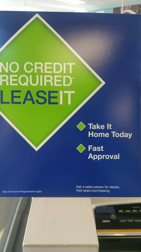 Lease your appliance(s) today!!!